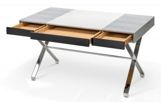 Schreibtisch_X-Gestell